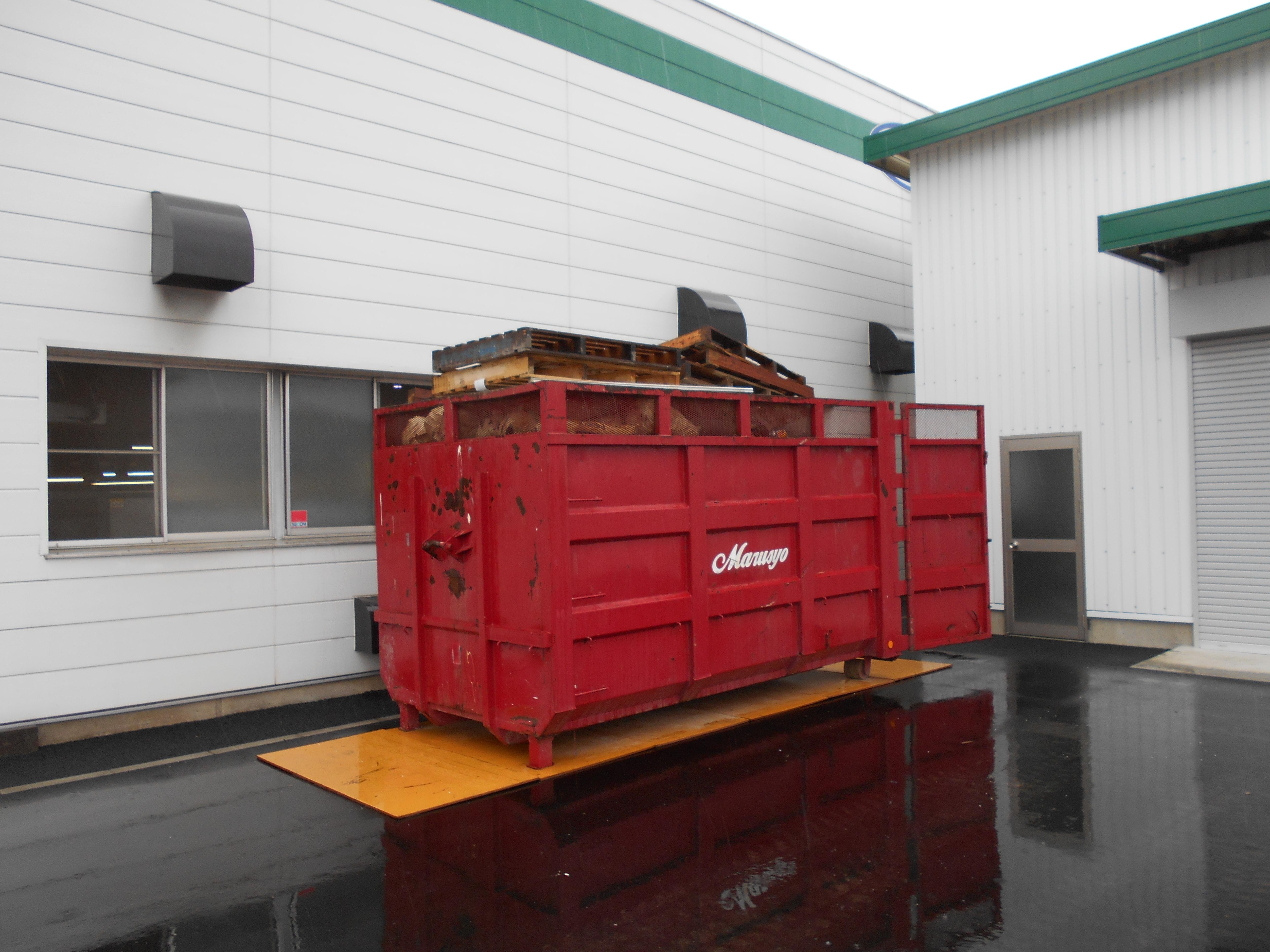 【コンテナ設置】工場から排出される産業廃棄物の収集運搬を行った事例を紹介します。コンテナ交換でスムーズに!