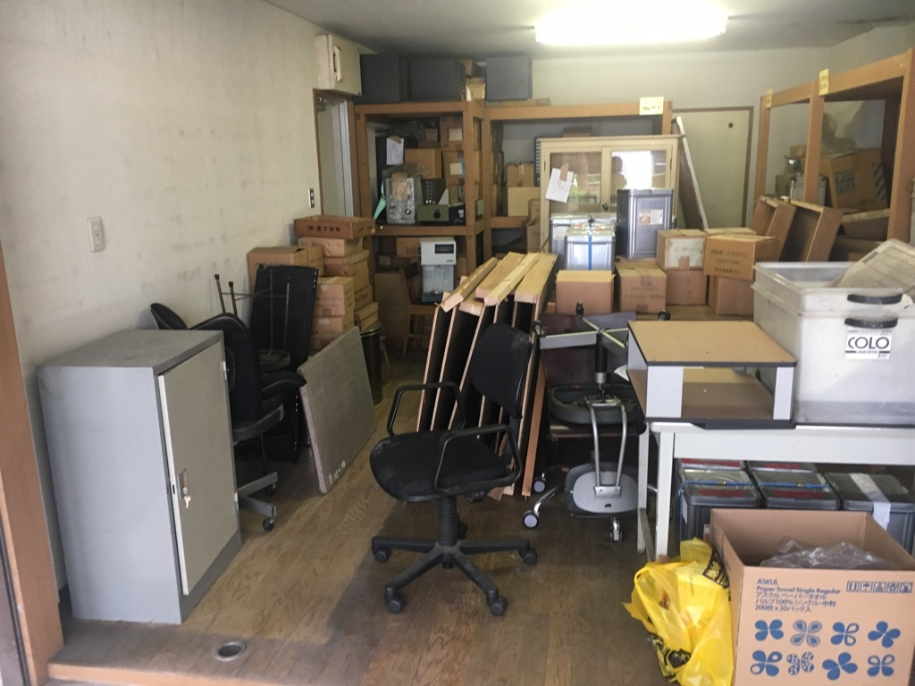 【産業廃棄物の回収搬入】粗大ごみの回収を薬品メーカー会社にて行った事例を紹介します。