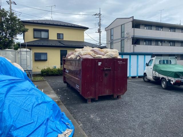 【産業廃棄物の処理】大規模リフォーム現場の産廃処理を行った事例を紹介します。