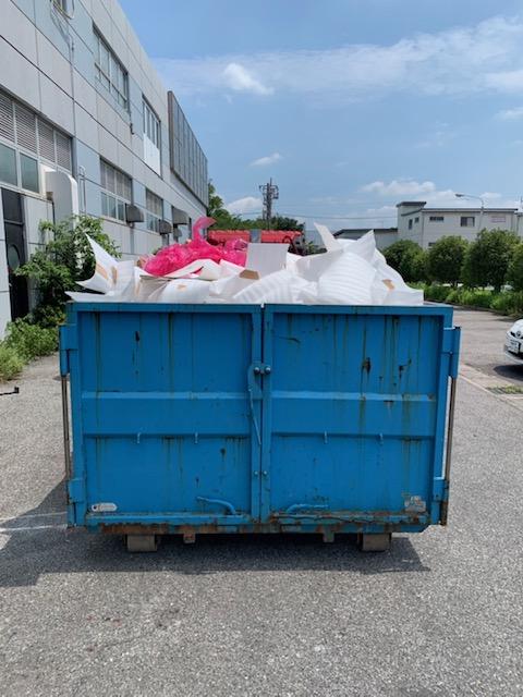 【産業廃棄物の処理】印刷工場粗大一式処理を行った事例を紹介します。