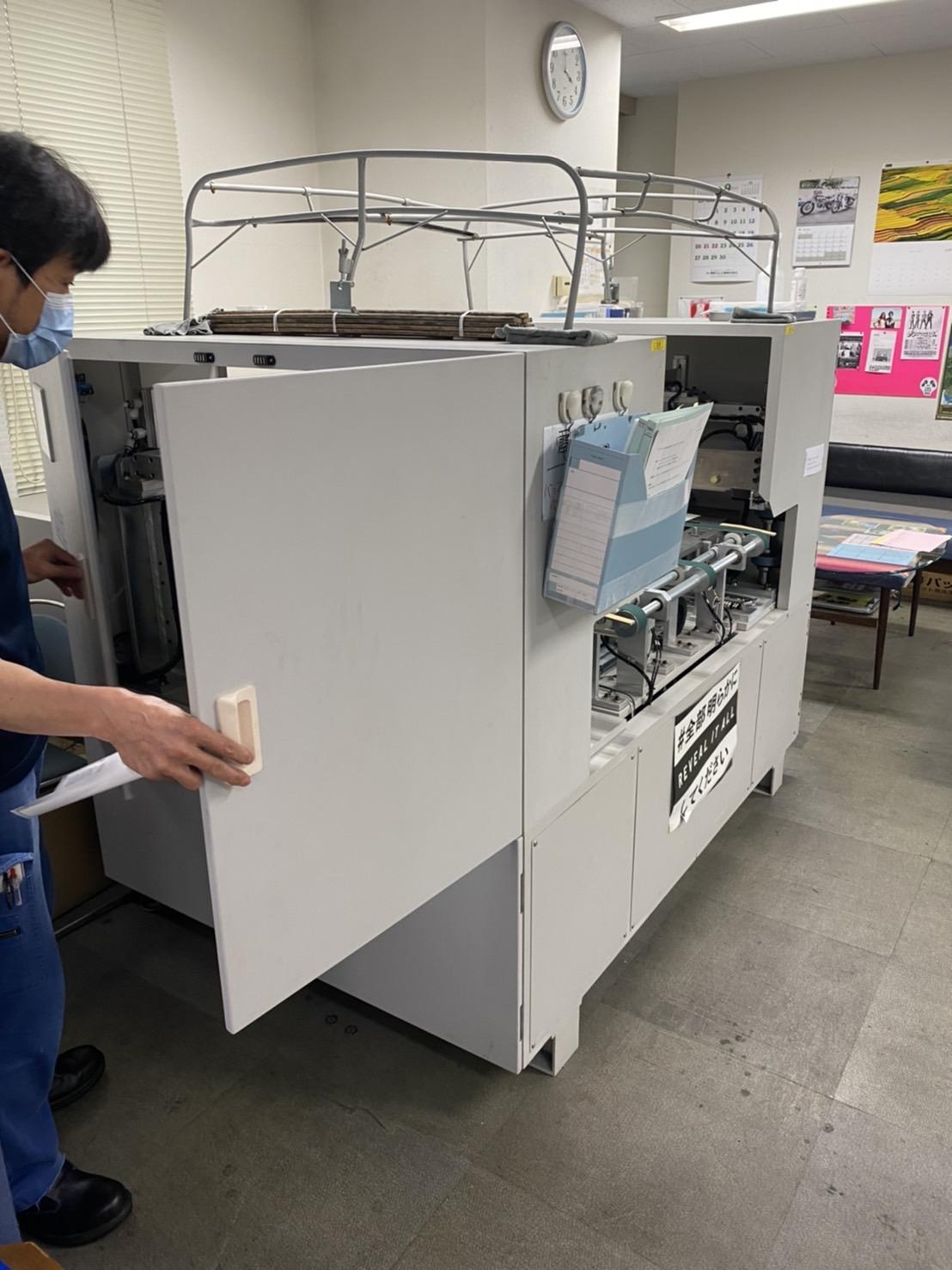 【産業廃棄物の処理】印刷工場の不要機械(重量物含む)の搬出、処分の事例を紹介します。