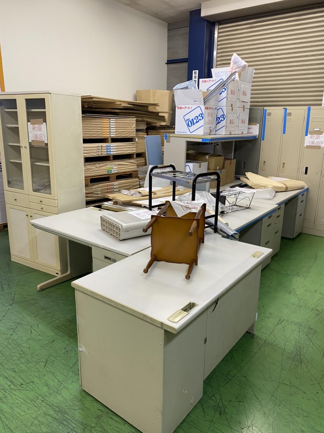 【産業廃棄物の処理】印刷工場事務所の粗大ごみ廃棄請負事例(埼玉県新座市)を紹介します。